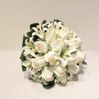دسته گل عروس کد 1004