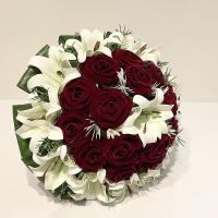 دسته گل عروس کد 1006